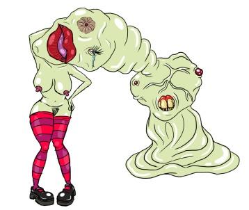 Titilating gross blob