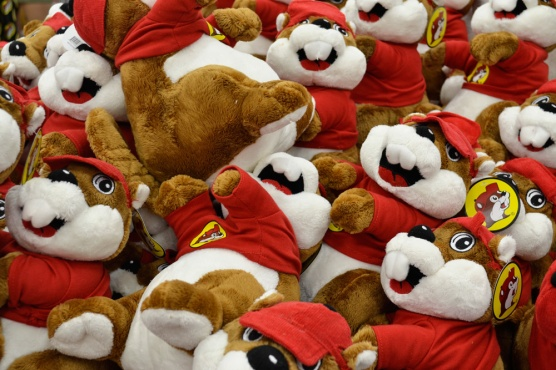 Buccee's plush toys