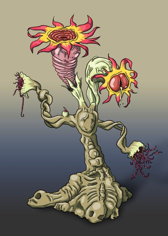 Weird creepy plant