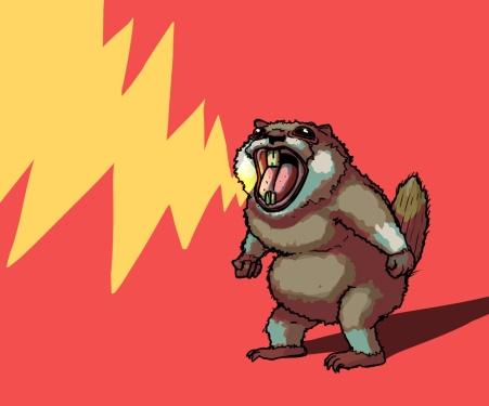 Crazy groundhog