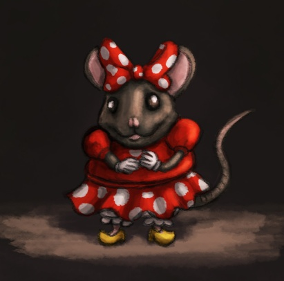Realistic Minnie Mouse
