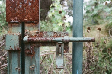 Rusted door