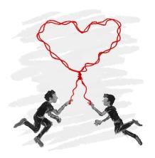 Red string love