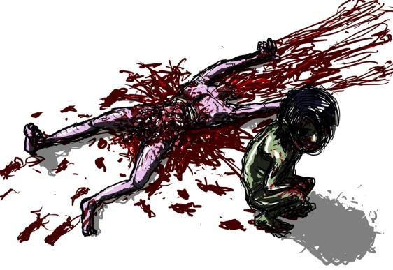 Torn apart body