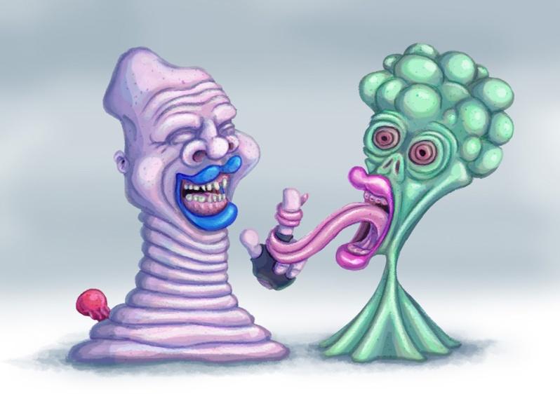 Weird creatures