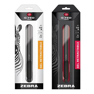 Zebra G-750 Steel Pen packaging