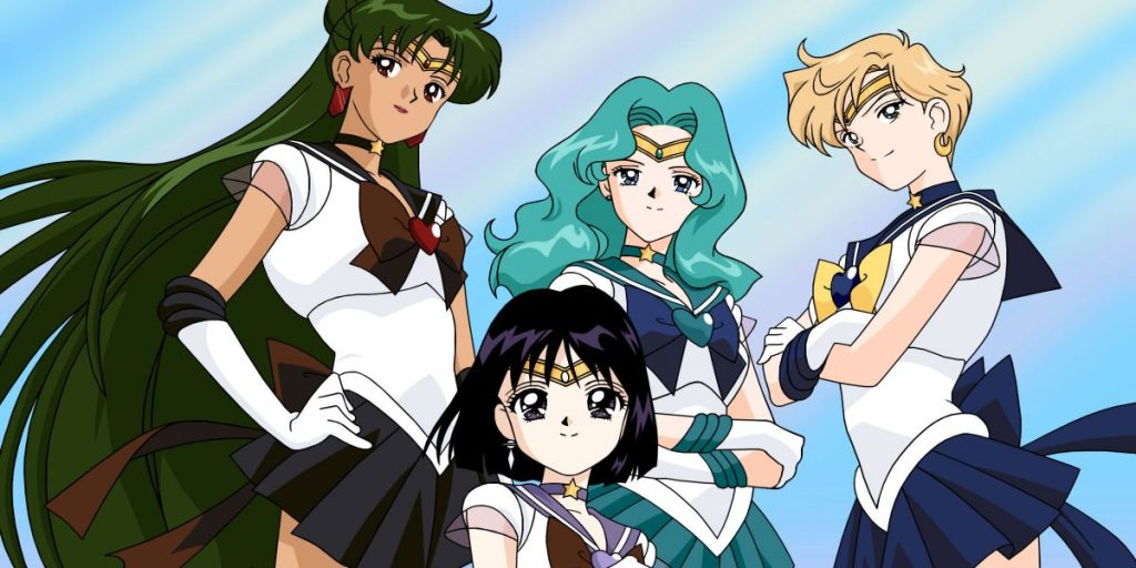 Sailor Pluto, Sailor Neptune, Sailor Uranus, Sailor Saturn