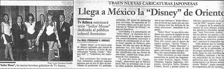 Periódico Sailor Moon México