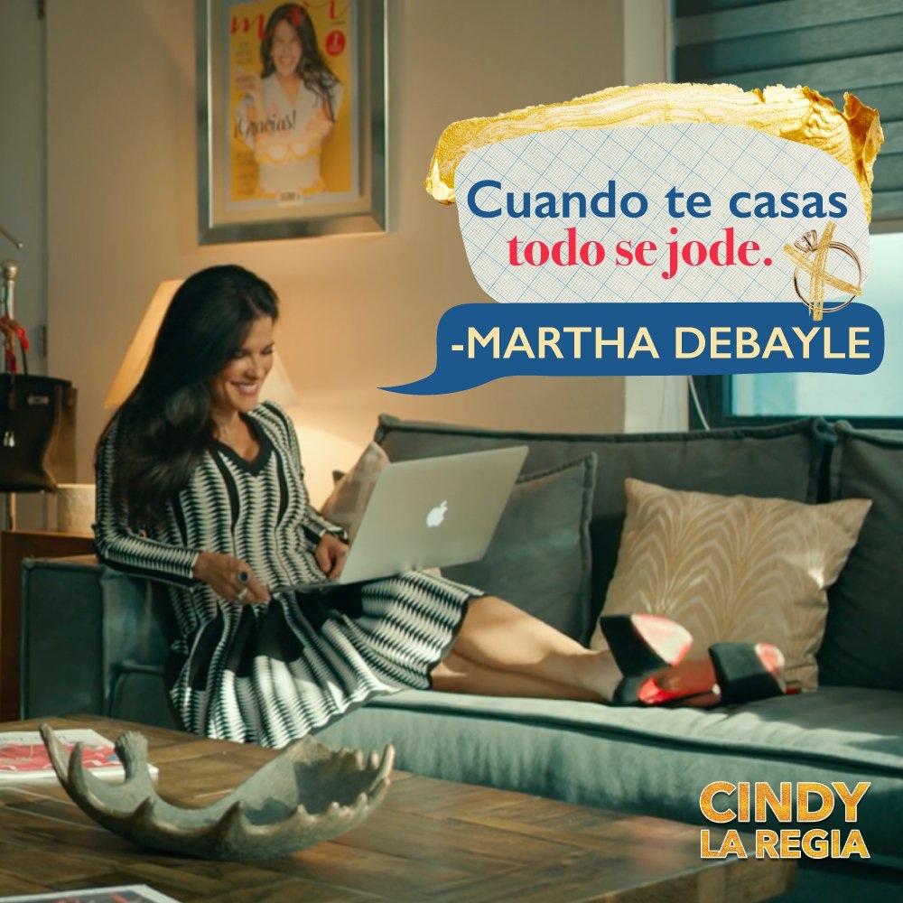 Martha Debayle en Cindy la Regia