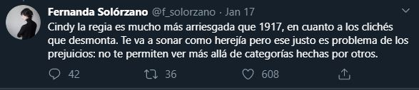 Tuit Fernanda Solórzano