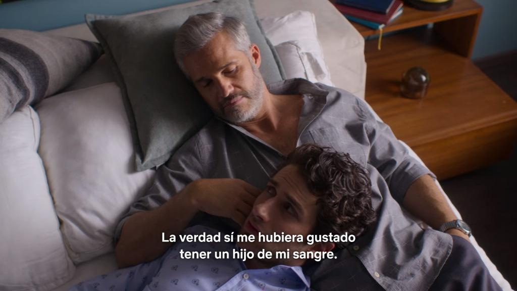 Diego y Julián de la Mora de La casa de las flores