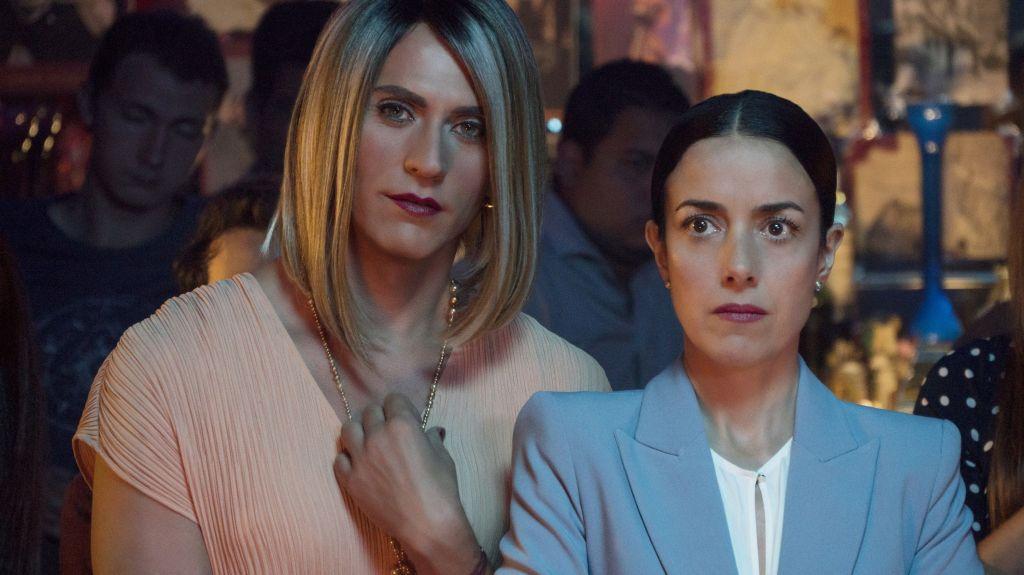 María José y Paulina de la Mora de La casa de las flores